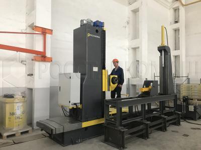 Сдан торцефрезер ТФС-4М на заводе Steel Property Construction, г.Ташкент